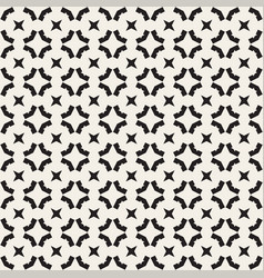 seamless geometric pattern monochrome texture vector image