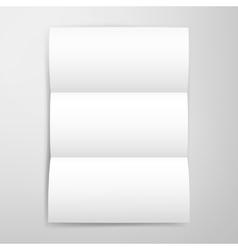 Blank Brochure Template vector image vector image
