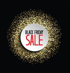 glitter back friday sale background 2309 vector image vector image