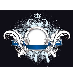 grunge vintage emblem vector image