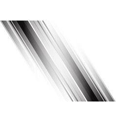 Abstract black gradient white design modern vector