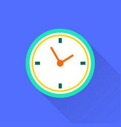 Clock time icon vector