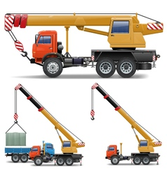 Construction Machines Set 5 vector image