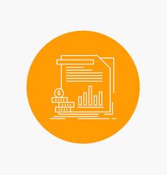 economy finance money information reports white vector image