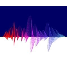 Equalizer colorful Dark background vector