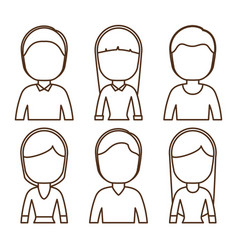 People icon image vector