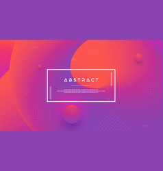 Purple abstract background with a dynamic shape vector