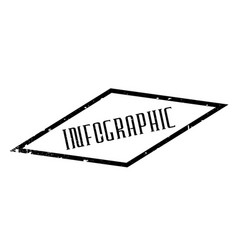 infographic rubber stamp vector image vector image