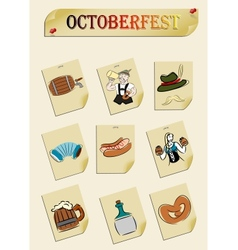 octoberfest vector image