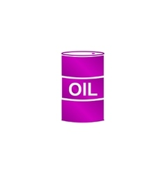 icon barrels of oil vector image vector image