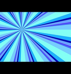 Light Ray Burst Abstract Background Blue vector image