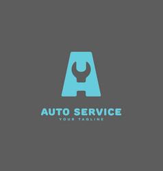 Auto service logo vector