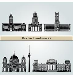 Berlin v2 landmarks vector