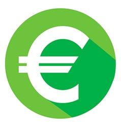 Euro material design vector