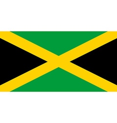 Flag jamaica vector
