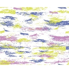 pattern colorful paint brush strokes vector image
