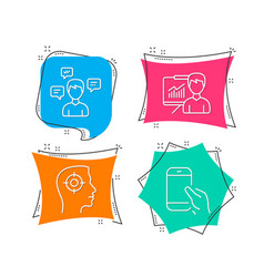 Presentation recruitment and conversation vector