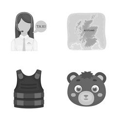 profession travel tourism and other web icon in vector image