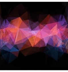 Triangle concept design Mosaic vector