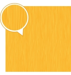 Wood texture background - light yellow vector