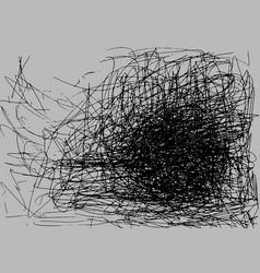 grunge background black color on gray sketch vector image vector image
