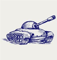 Main Battle Tank vector image vector image
