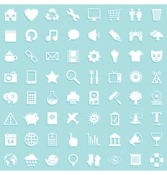 media icon background vector image