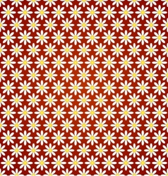 abstract flower seamless pattern with ethnic vector image