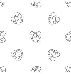 Baby nipple pattern seamless vector
