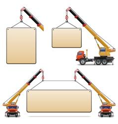 construction machines set 6 vector image