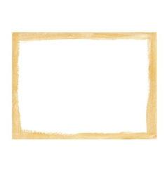 Gold grunge frame vector