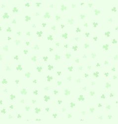 shamrock pattern seamless vector image