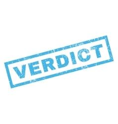 Verdict Rubber Stamp vector