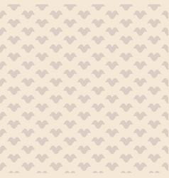 vintage geometric seamless pattern in beige vector image