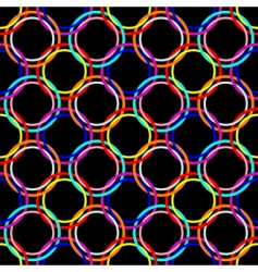 circles seamless mesh vector image vector image