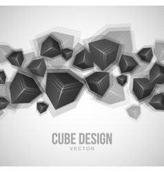 Cube Design vector image vector image