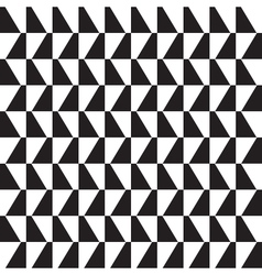 Vintage pattern background black and white vector image vector image