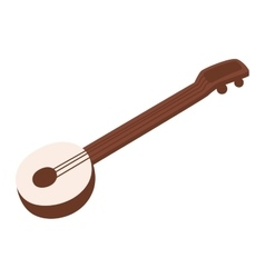 Banjo guitar vector image
