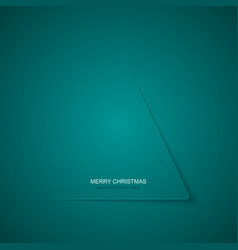 modern christmas tree background vector image vector image