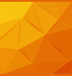 abstract orange graphic art vector image