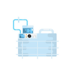 apparatus for lung ventilation medical equipment vector image vector image