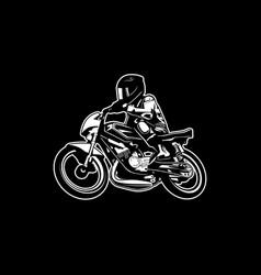 Biker 18 vector