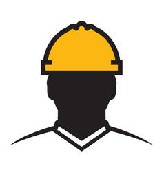 Contractor icon vector