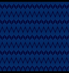 Creative classic design pattern in blue background vector