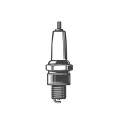 Plug car-ignition system engine spare part icon vector