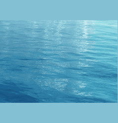 texture background with rippled sea vector image