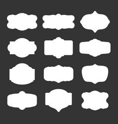Vintage creative design templates vector