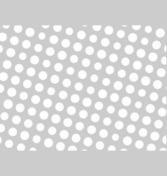 abstract geometric pattern of white circle dots in vector image