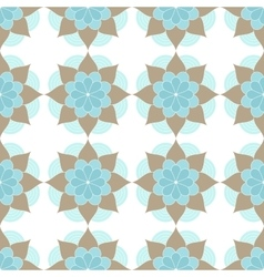 Ethnic oriental geometric seamless pattern vector image vector image