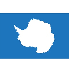 Flags of antarctica vector image vector image